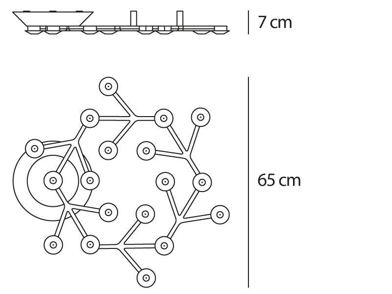 artemide - led net - soffitto - scheda prodotto